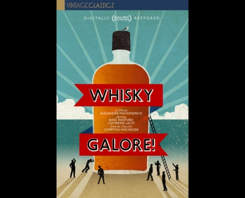 vhsteacher- English Language Film Club. DVD cover image for 1949 film, Whisky Galore